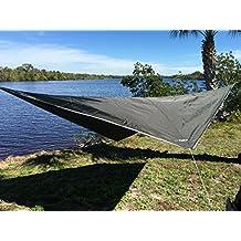 Hammock Rain Fly 70D Ripstop Nylon by Krazy Outdoors