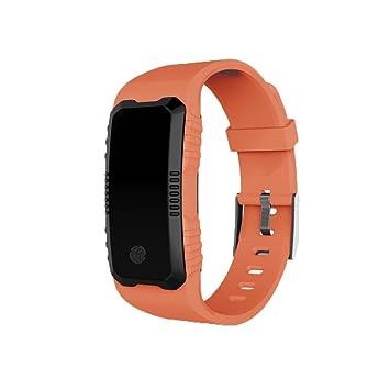 fuibo Smart Watch, frecuencia cardíaca Tensiómetro de seguridad muñeca impermeable Bluetooth Smart Watch | inteligente reloj de pulsera Sport Fitness ...