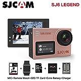 SJCAM SJ6 Legend Sports Action Camera Action Helmet Sports DV Camera 1080P 170 Wide Angle Len Waterproof Action Camera (Rose Gold)