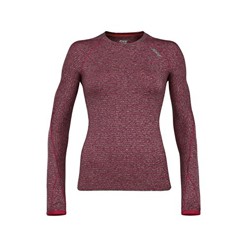 Zoot Sports Women's Liquid Core Long Sleeve Hoodie, Medium, Punch
