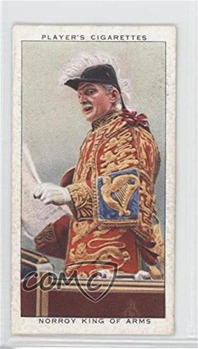 - Norroy King of Arms (Trading Card) 1937 Player's Coronation Series Ceremonial Dress - Tobacco [Base] #16