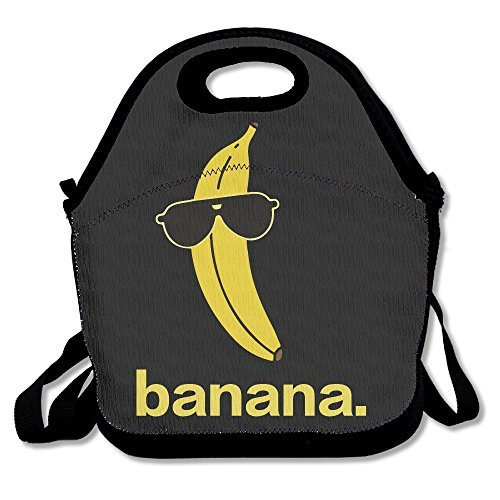Cool Banana Glasses Lunch Bags Lunch Tote Lunch Box Handbag For Kids And - With Banana Glasses