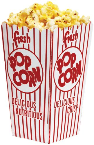 (Popcorn Small Scoop Box, 0.79-Ounce (100 Per Case))