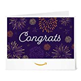 Amazon.ca Gift Card - Print - Congrats Fireworks