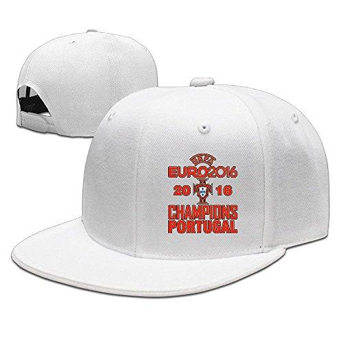 MaNeg Portugal 2016 Soccer Champion Unisex Fashion Cool Adjustable Snapback Baseball Cap Hat One Size - 2016 Mar Costa Del