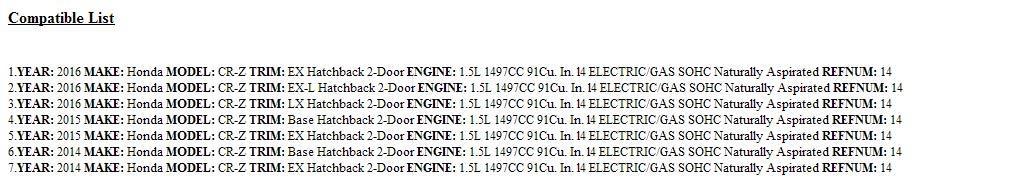 Genuine Honda 80320-SZT-G01 Air Conditioner Pipe