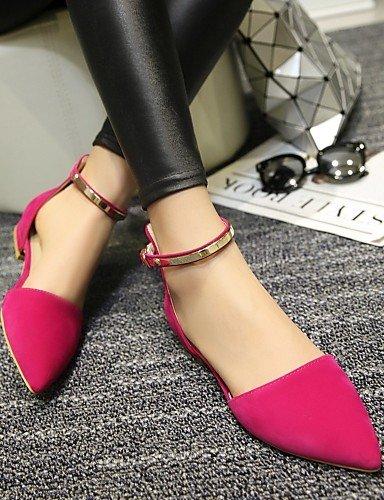 vestido de black rojo eu37 punta sintética piel casual PDX aire al Pisos 5 uk4 mujer almendra Toe talón libre 7 cn37 us6 negro zapatos plano de 5 5 6gHHdWAq