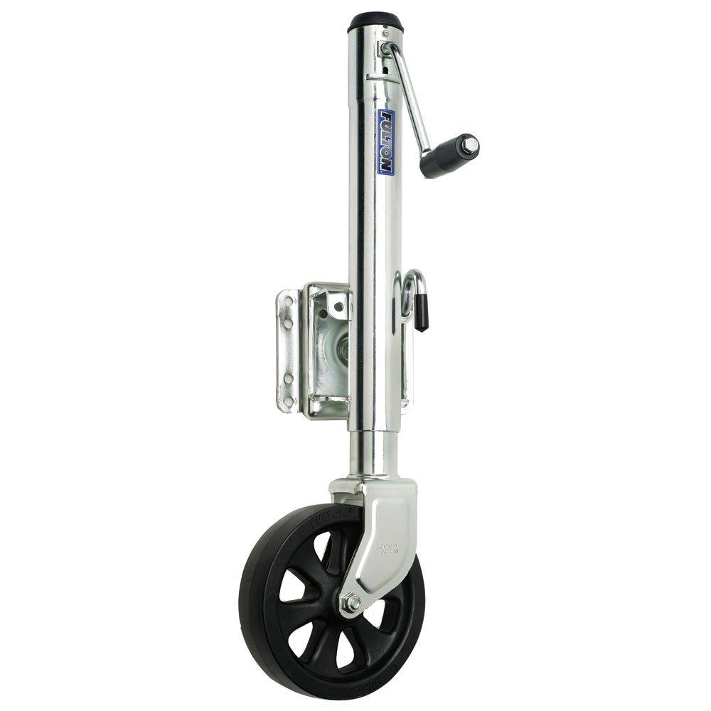 Fulton Single Wheel 1,500 lbs. Bolt-Thru Swivel Jack by Fulton