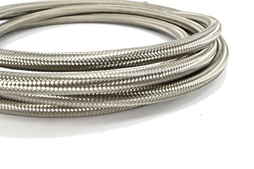 - Kraken Automotive - 10AN Stainless Braided Hose for Fuel, Oil, Coolant and Air (10 Feet)