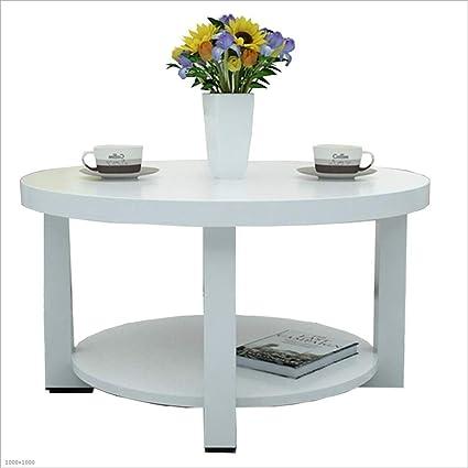 Amazon.com: Mesa auxiliar plegable de 2 niveles, mesa de ...