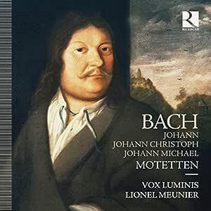 J.S. Bach, J.C. Bach & J.M. Bach: Motetten