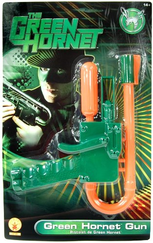 Green Hornet Gun, Green/Orange, One Size Costume