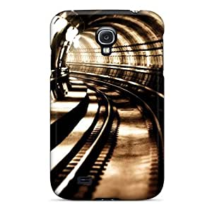 [WCbtWfV4946dxTpp]premium Phone Case For Galaxy S4/ Metro Tunnel Tpu Case Cover