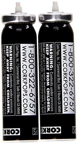 Cork Pops III Corkscrew Replacement Cartridges -Set of 8