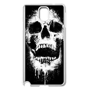 Samsung Galaxy Note 3 Cell Phone Case White Skullogy Vxnvi