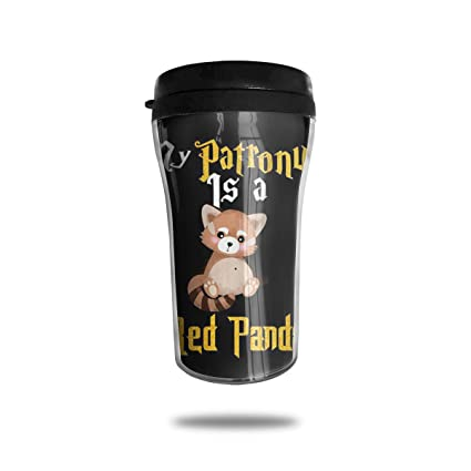 08859cf4278 FTRGRAFE My Patronus is A Red Panda Travel Coffee Mug 3D Printed Portable  Vacuum Cup,