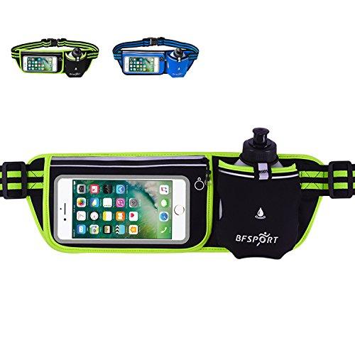 Elegant Choise Running Belt, Adjustable Waist Pack with Water Bottle Bottle for Running Outdoor Climbing Hiking Sports