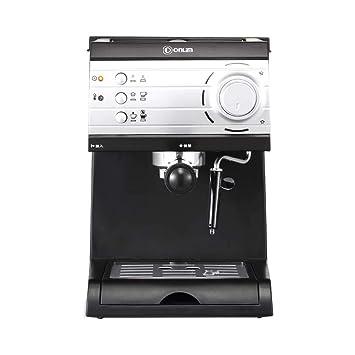 Máquina de café de goteo italiana de estilo americano, de vapor, de estilo americano, semi-automática, de uso doméstico y comercial: Amazon.es: Hogar