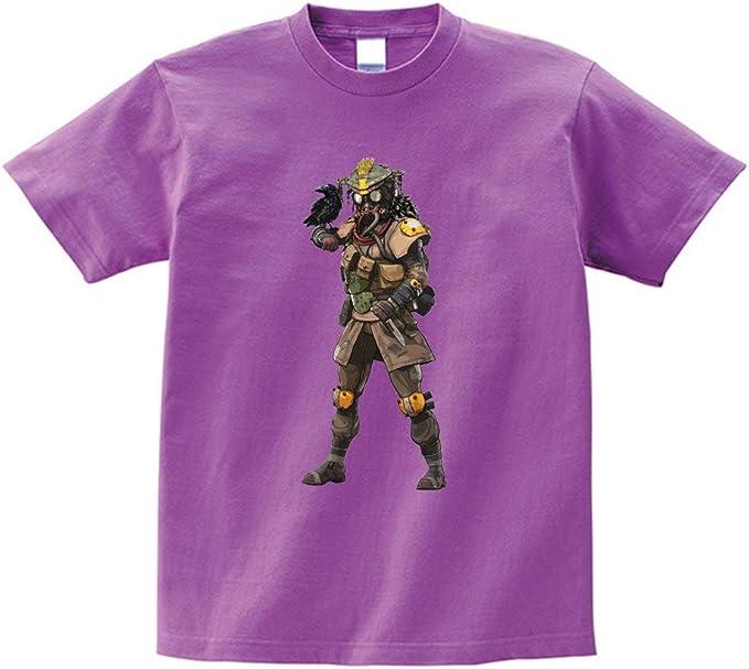 GKH2 Apex Legends - Camiseta de Manga Corta para jóvenes, diseño de Cazador de Sangre, Color Morado: Amazon.es: Hogar