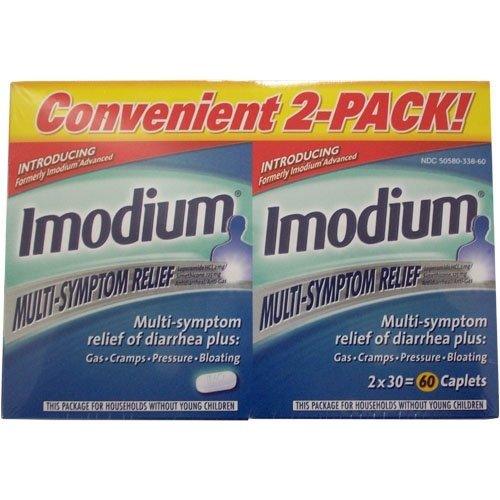 Imodium Multi-Symptom Relief - 2 Pack, 60-Count Box by Acrimony Lounge