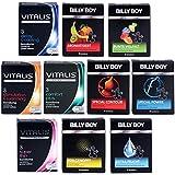 Billy Boy + Vitalis Premium Mix - 30 Kondome - 12 verschiedene Kondom Sorten - Abwechslung auf höchstem Niveau