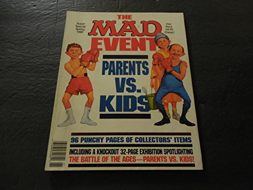 The MAD Event Super Special Spring 1989 Parents vs (Special Event Catalog)