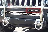 Hummer H3 Front Bumper Chrome Letters Insert