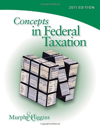 Concepts in Federal Taxation 2011 (with H&R Block @ Home Tax Preparation Software CD-ROM, RIA Checkpoint & CPAex