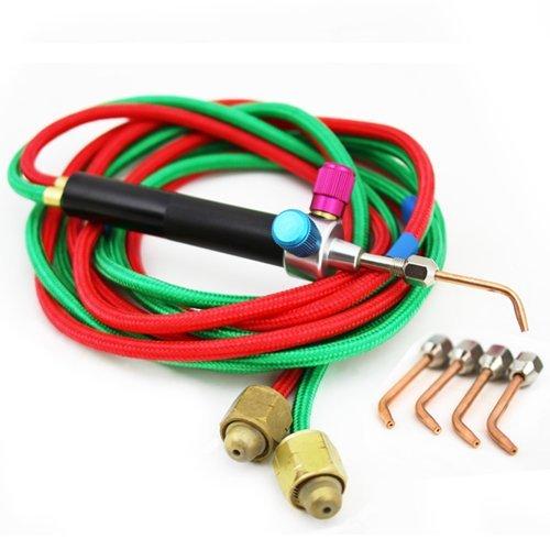 XtremepowerUS Little Welding Soldering Torch Kit Oxygen Acetylene Repair