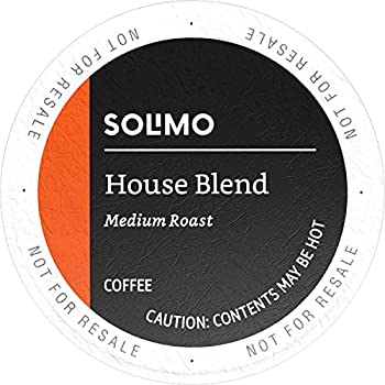 100 Ct. Solimo House Blend Medium Roast Coffee Pods