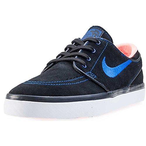 Nike Zoom Stefan Janoski - Zapatillas de skateboarding Hombre Negro (Black / Rcr Blue-White-Ttl Crmsn)