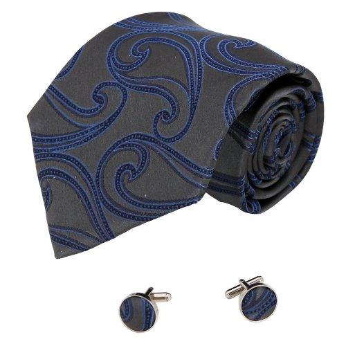 Silver Grey Neck Tie - 6