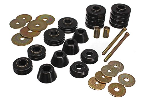 Energy Suspension 3-4107G GM CAB MOUNTS BLACK