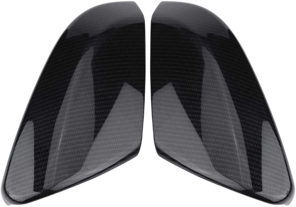 Mirror Cover Sticker for Honda for Civic 10Th 2016 2017 2018 Piaobaige 1 Pair of ABS Carbon Fiber Style Rearview Side Mirror Cover