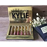 100% real Birthday Kylie Jenner Kylie Edition Birthday kit Matte Liquid Lipstick | 6 Mini set