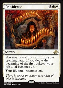 Magic The Gathering - Providence (037/205) - Eldritch Moon from Magic The Gathering