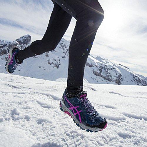 Traillaufschuhe 4 Damen Asics Fujitrabuco Gel Blau fnUxfHq6z