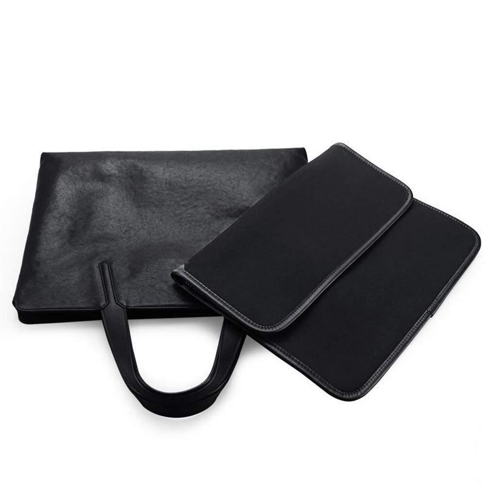 FLYSXP Handbag Business Bag Shoulder Diagonal Cross Section Mens Computer Bag Casual Backpack Official Man Bag 37.5 X 45 X 28.6cm Briefcase