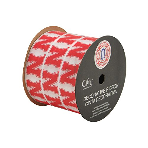 Offray University of Nebraska Cornhuskers Fabric, 2-1/2