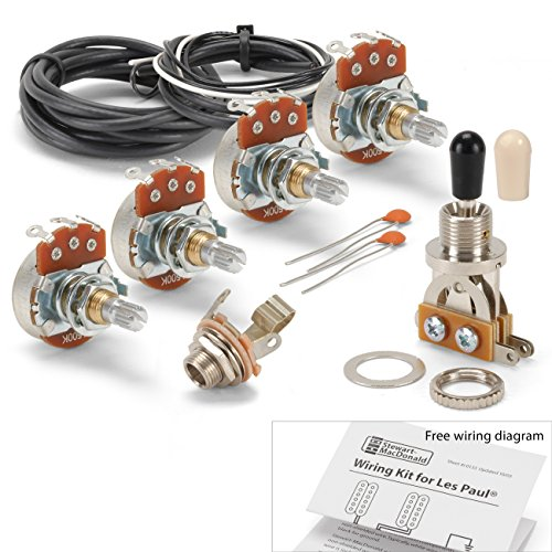 (Golden Age Wiring Kit for Gibson Les Paul Guitar)