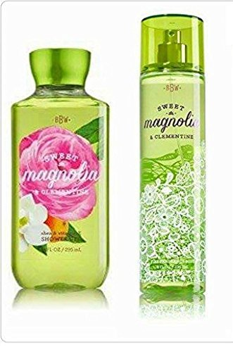 Bath & Body Works Sweet Magnolia & Clementine Gift Set ~ Fragrance Mist & Shower Gel ~ Full Size