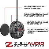 Zulu Audio Magnetic Wearable Bluetooth Speakers