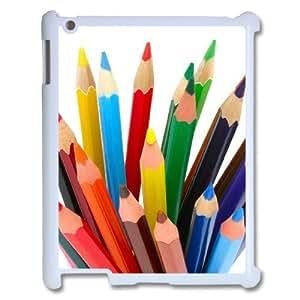 Cover Custom Case Of Art Pencil customized case For IPad 2,3,4