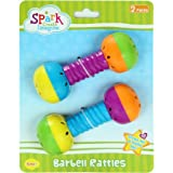 Spark Create Imagine Barbell Rattles, 2 pieces - Best Reviews Guide