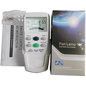 Hiyill Universal Fan9t Ceiling Fan Remote Control