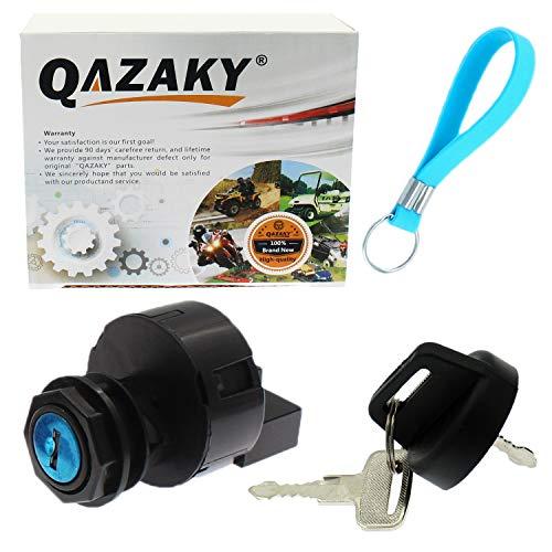 QAZAKY Replacement for Ignition Key Switch Polaris Sportsman Trail Blazer Predator Ranger RZR Xpedition Xplorer 4 250 325 330 400 425 500 570 600 700 800 850 900 1000 MV7 X2 XP HO EPS EFI INTL Pro-RMK