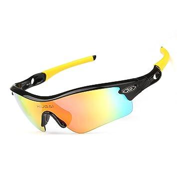 563b48403ab ... Windproof Cycling Glasses MTB Bike Sunglasses Road Mountain Cycling  Riding Bicycle Bike UV400 Sports Sun Glasses Eyewear Polariser Sunglasses 5  Lens ...