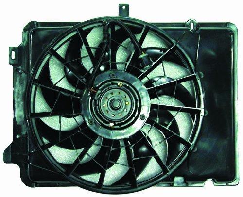 Depo 330-55001-000 Dual Fan Assembly