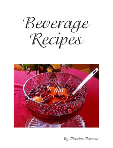 Cider Punch Recipes (Beverage Recipes Book -
