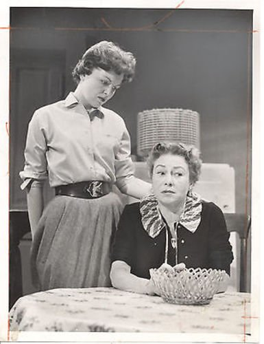 KATHLEEN MAGUIRE THELMA RITTER THE CATERED AFFAIR TV 7X9 ORIGINAL
